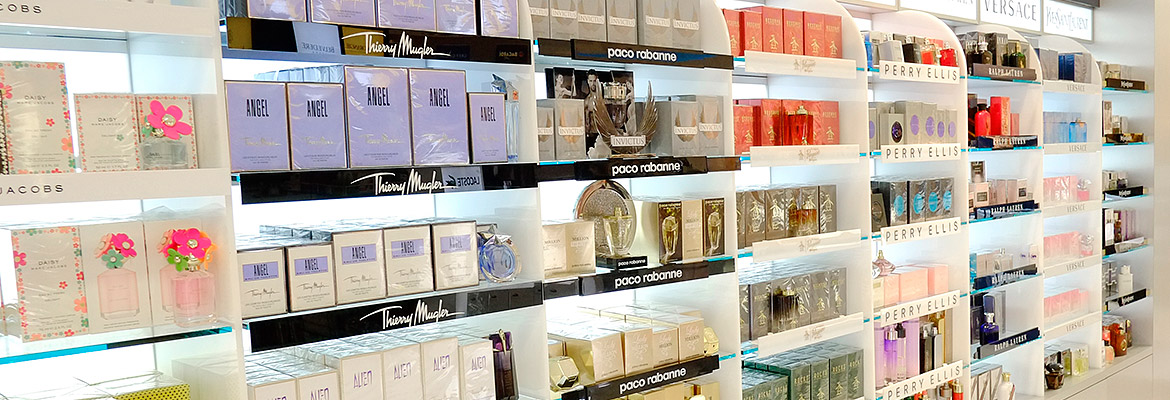 Duty Free Americas - Stock up on perfumes and colognes!